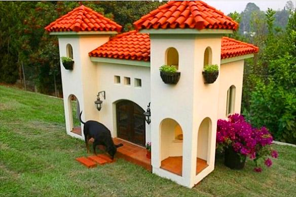 Mexican Hacienda Dog House