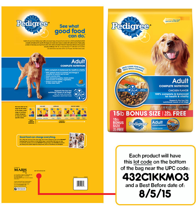 Dog Food Recall Information