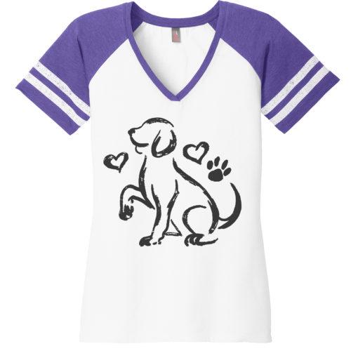 Puppy love sketch shirt