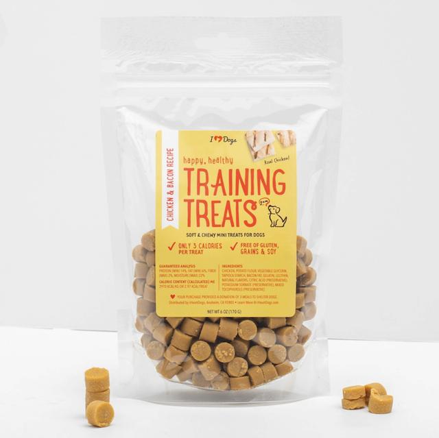 iHeartDogs training treats