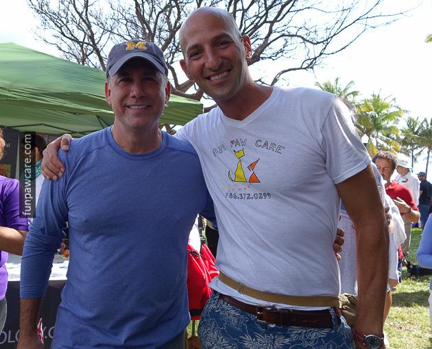 Russell Hartstein and Miami Beach Mayor Philip Levine. Image source: Russell Hartstein