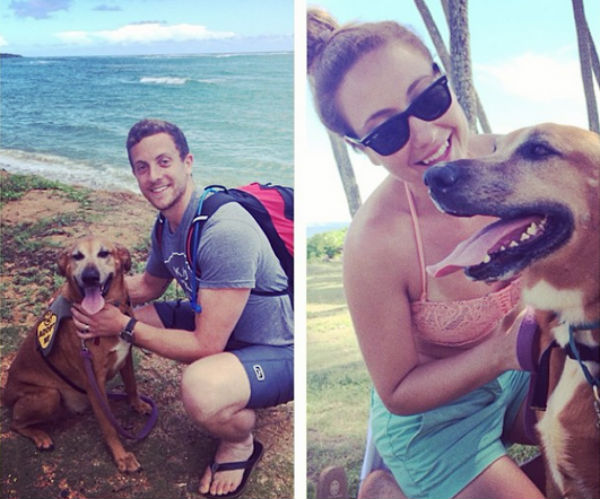 Crissy, Charlie and Big Z in Hawaii. Image source: Walkzee