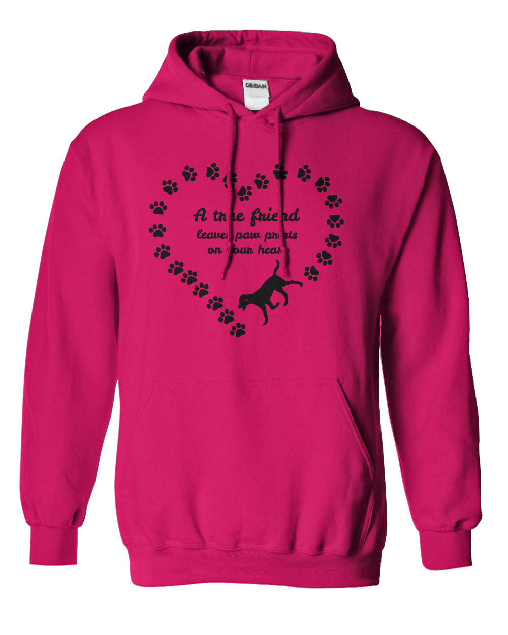 I Heart Whippets Facebook A True Friend Hoodie �...