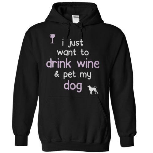 Drink Wine & Pet My Dog 1