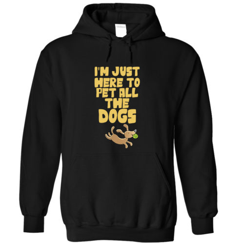 Pet All The Dogs Hoodie 1