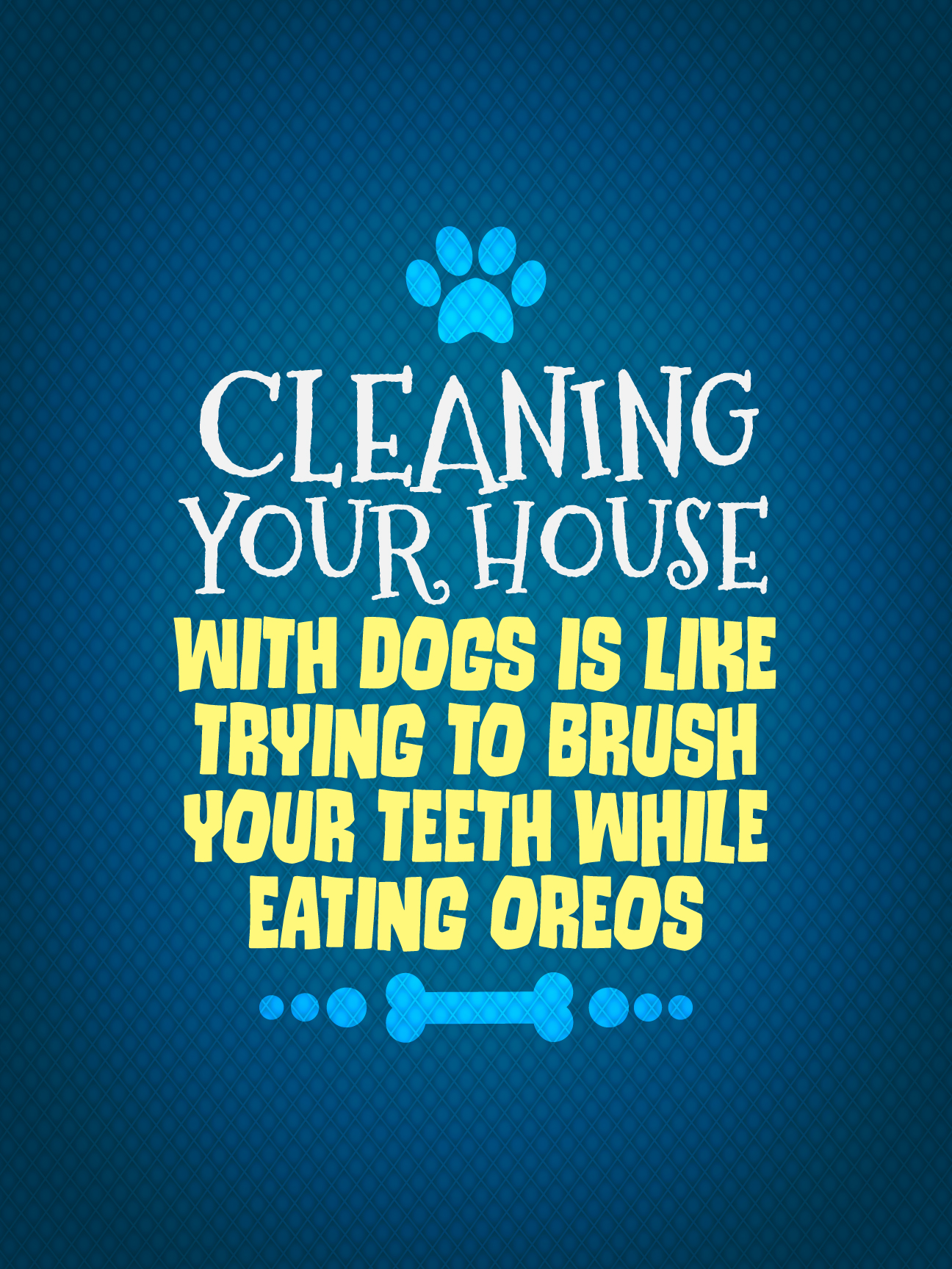 Cleaning Your House Poster