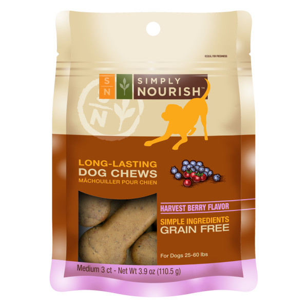 long lasting dog treats