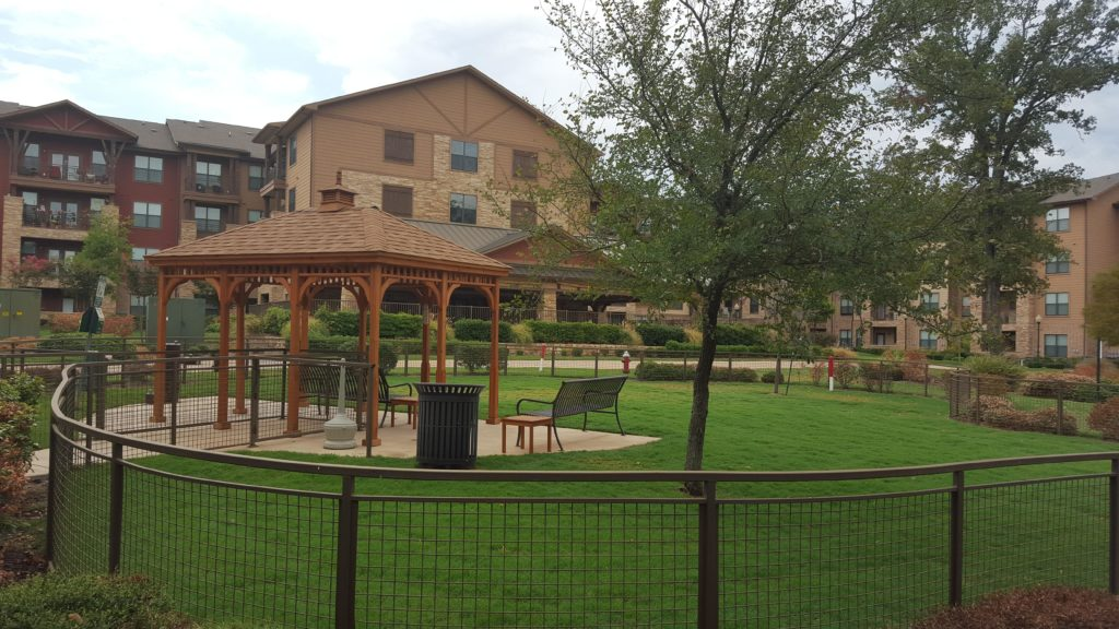Watercrest at Bryan's dog park and trails. Image source: Watercrest at Bryan