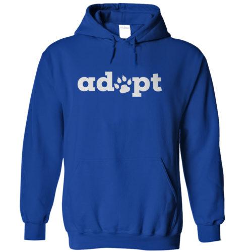 Adopt Paw Hoodie 1