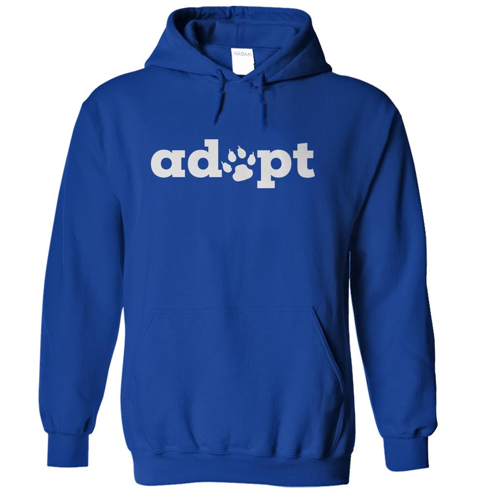 Adopt Paw Hoodie
