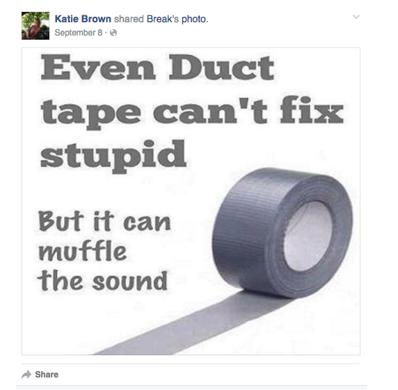 """UPDATE: Woman Who Duct Taped Her Dog's Muzzle When He """"Won"""