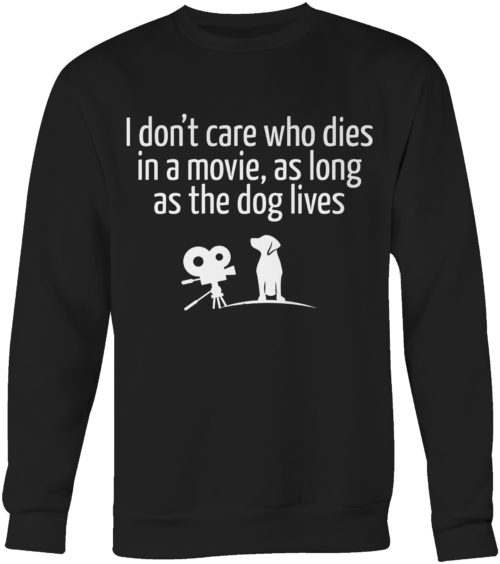 The Dog Lives Crew Neck Sweatshirt