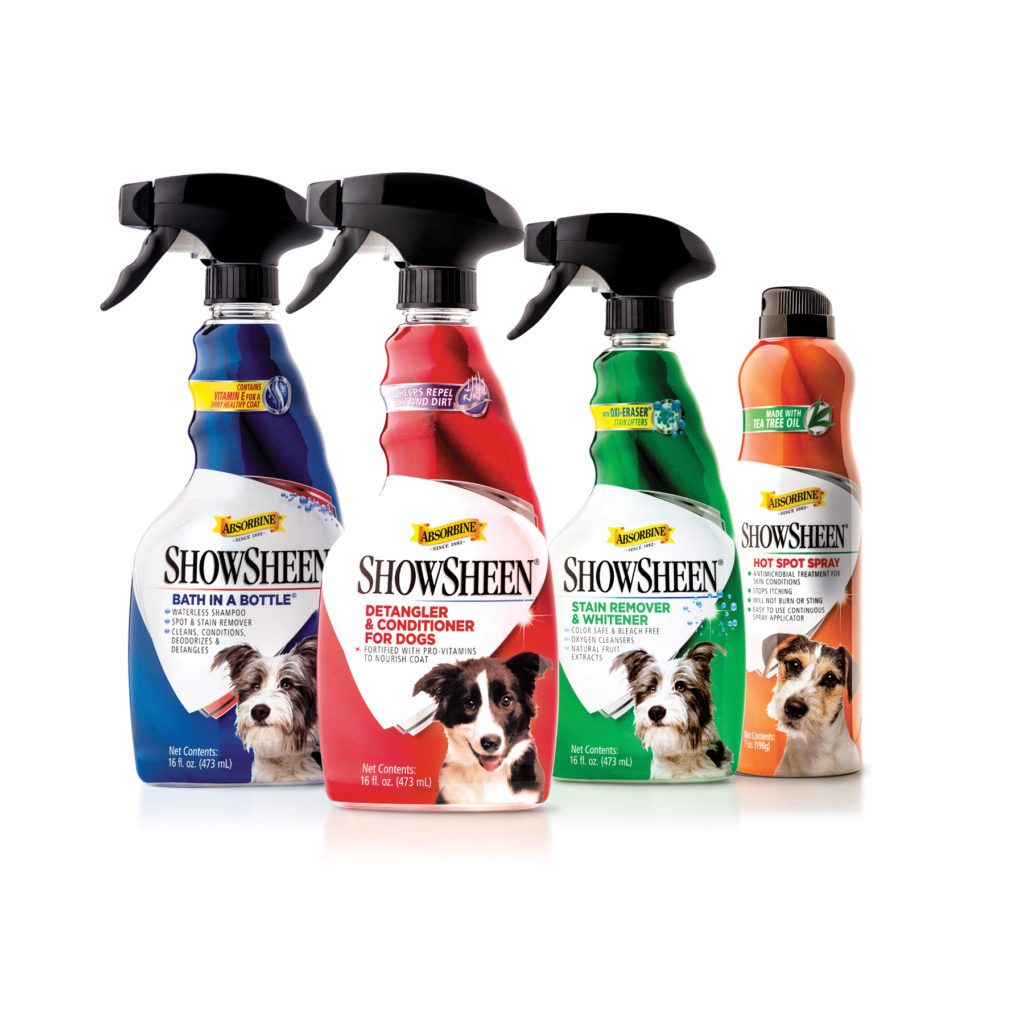 dg8 showsheen-for-dogs-product-family