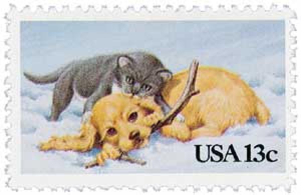 U S Postal Service Unveils New Pets Forever Postage