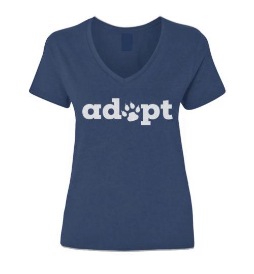 Adopt Paw V-Neck