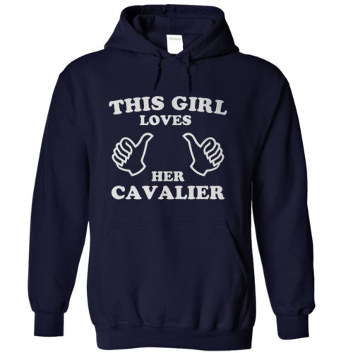This Girl Loves Her Cavalier Hoodie