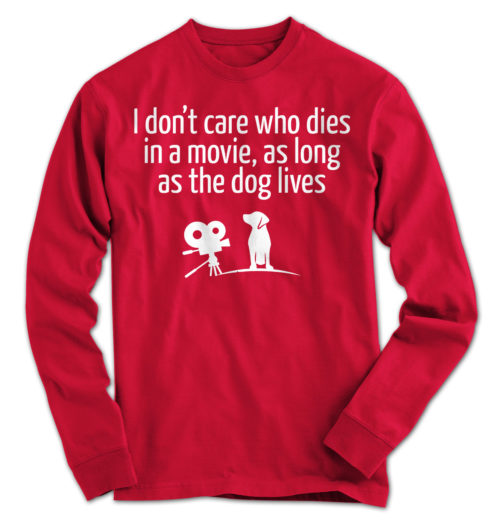 The Dog Lives Long Sleeve