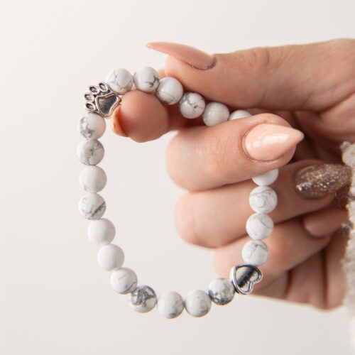 Limited Edition Memorial Bracelet: Feeds 22 Shelter Dogs in Honor of Your Beloved Pup