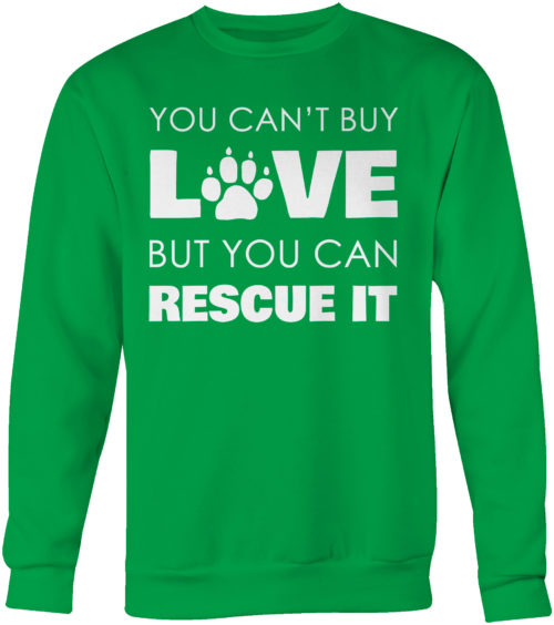 Rescue Love Crew Neck Sweatshirt