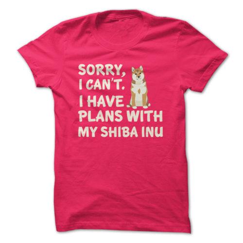 I Have Plans Shiba Inu