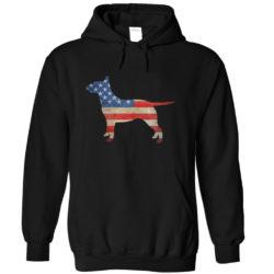 Vintage Bull Terrier USA Hoodie