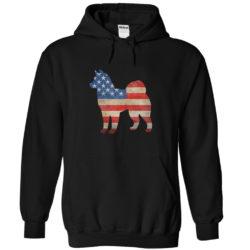 Vintage Alaskan Malamute USA Hoodie