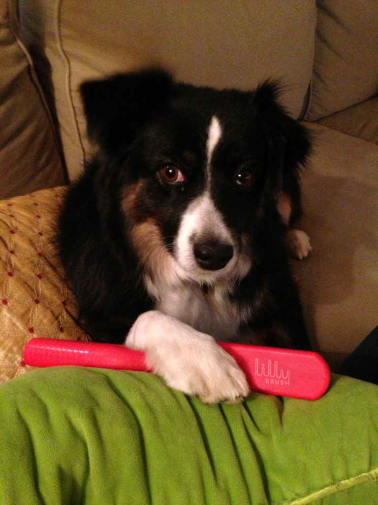 Lilly with her namesake product. Image source: Elsie Hamilton