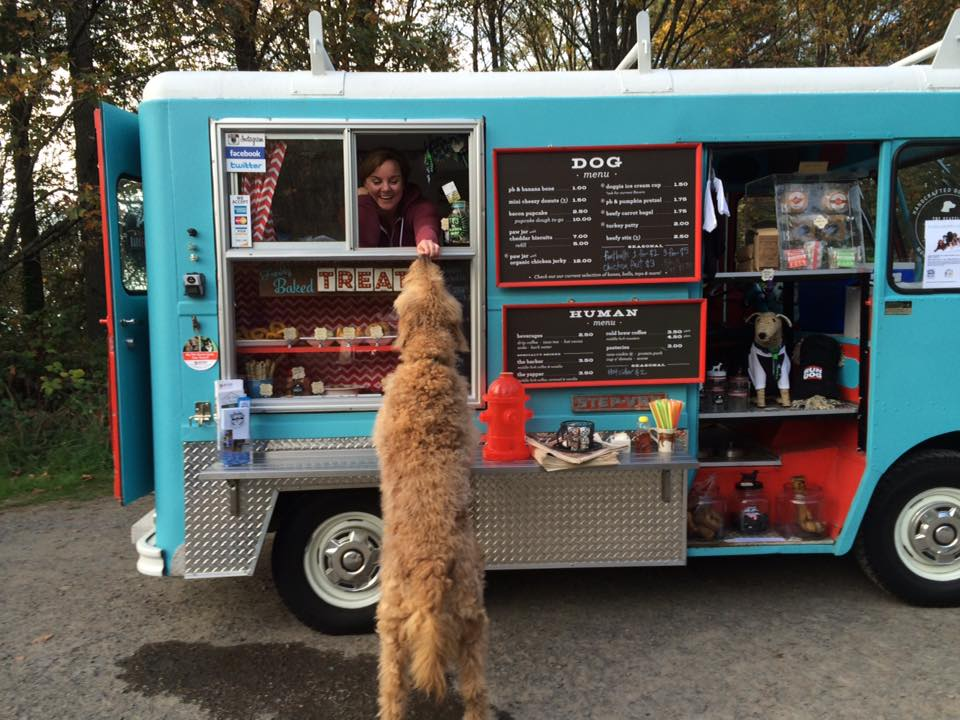 Take A Peek At Seattle's First Dog Food Truck!