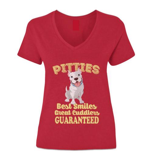 Pitties Best Smile V-Neck
