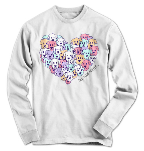 Heart of Dogs ADM Long Sleeve