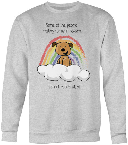 Waiting In Heaven Crew Neck Sweatshirt