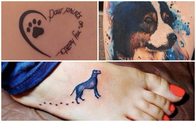 24 Dog Inspired Tattoos For Permanently Obsessed Pup