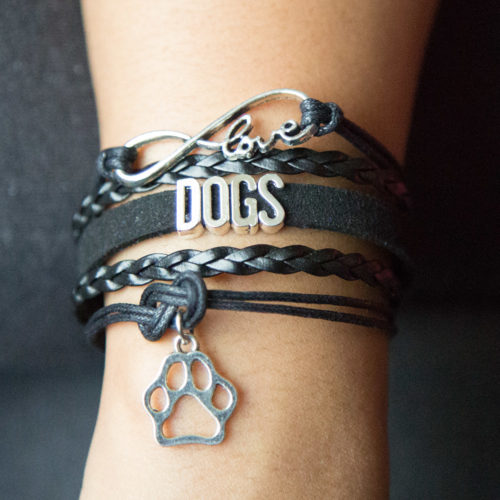 "5 Strand ""Infinite Love"" Bracelet: Feeds 5 Shelter Dogs"