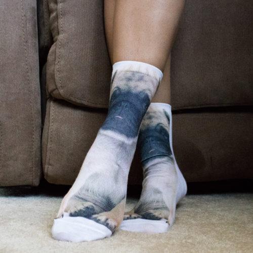 3D Printed Pug Socks