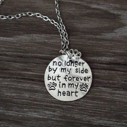 No Longer By My Side Necklace