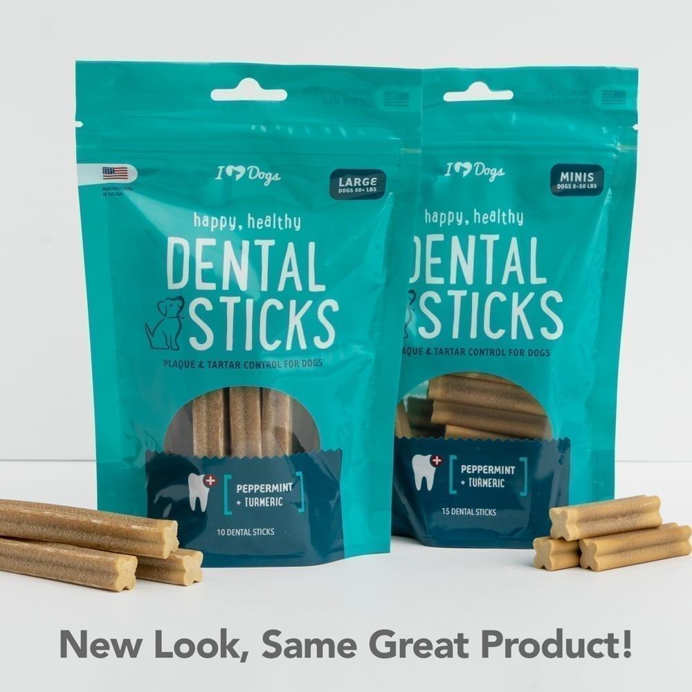 Happy, Healthy™️ Grain Free Triple Enzyme Dental Sticks