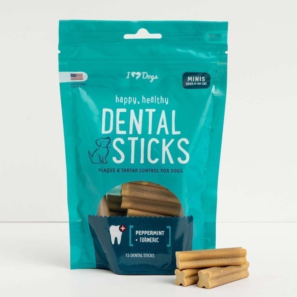 Happy, Healthy™️ Grain Free Triple Enzyme Dental Sticks- Mini 15 Pack