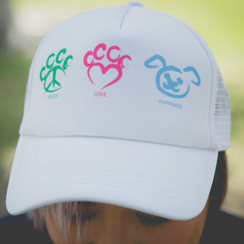 Peace Love Happiness Trucker Hat