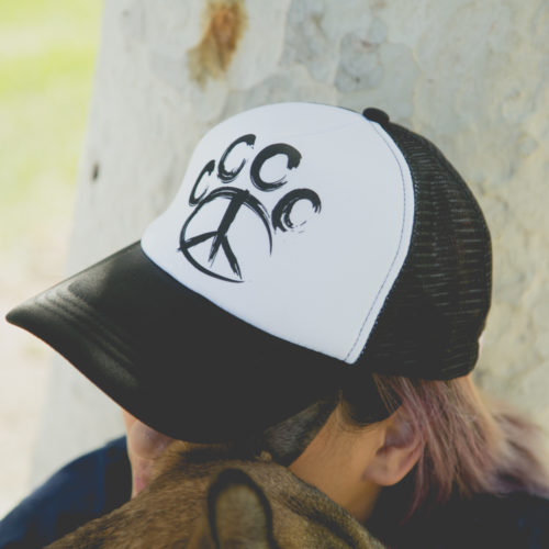 Paw Peace Trucker Hat