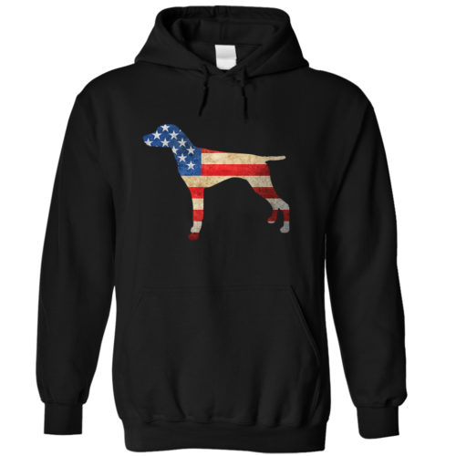 German Shorthaired Pointer USA Hoodie