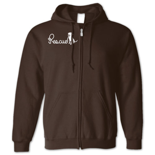 Rescue Leash Zip Hoodie