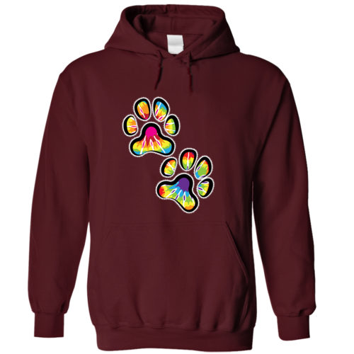 Double Paws Tie Dye Hoodie