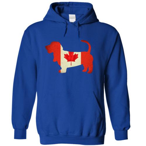 Basset Hound Canada Hoodie