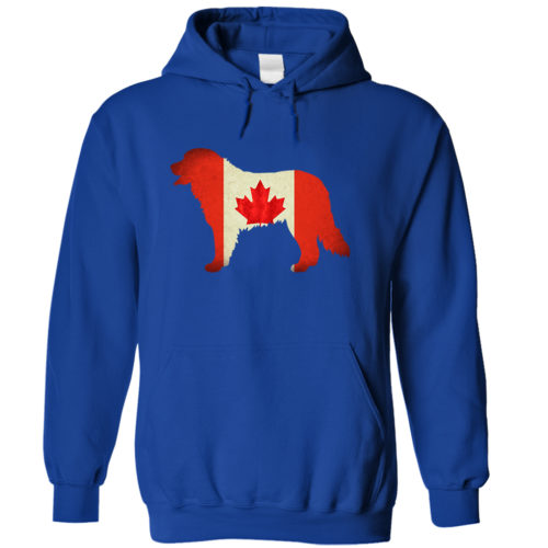 Bernese Mountain Dog Canada Hoodie
