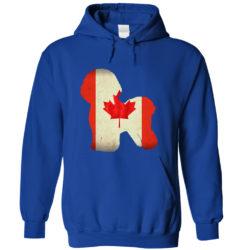 Bichon Frise Canada Hoodie