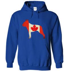 Boston Terrier Canada Hoodie