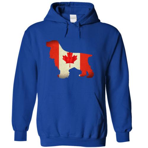 Cocker Spaniel Canada Hoodie