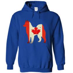 Alaskan Malamute Canada Hoodie