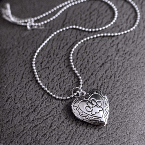 My Beloved Pup Photo Locket Necklace