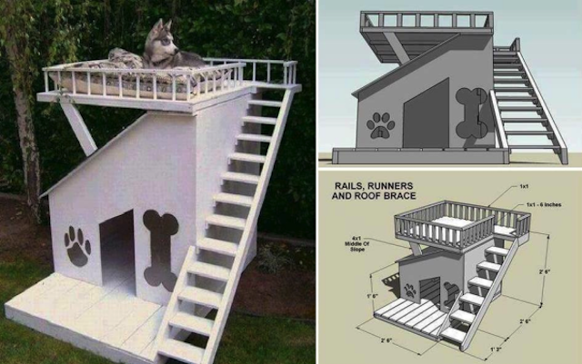 diy dog house ideas for crafty (and not-so-crafty) dog lovers
